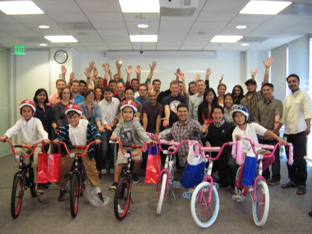 StubHub Build-A-Bike Team Building in San Francisco