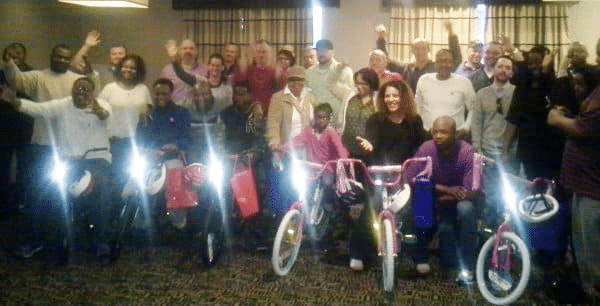 Home Depot Build-A-Bike Team Activity in Savannah GA