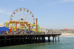 Santa Monica Pier Los Angeles, CA