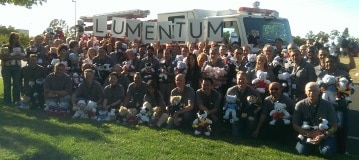 JDSU-Lumentum Rescue Bear Team Event in San Francisco Bay Area, California