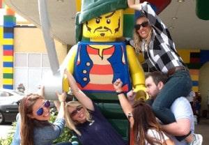 Camaraderie Quest Legoland Hotel in San Diego