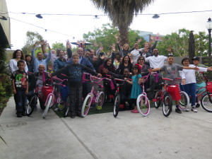 Fenwick and West Build-A-Bike Team Event in San Francisco, CA