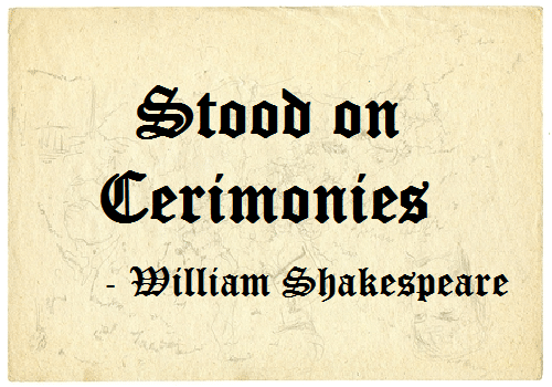 On Quoting Shakespeare Inspirational Leadership Series