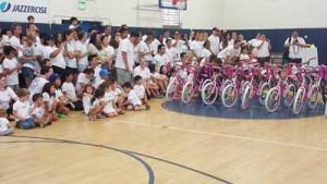 Oaktree Capital Build-A-Bike Team Building Event Los Angeles, CA