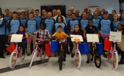 Knowles Corporation Build-A-Bike Team Building in Chicago, IL