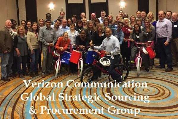 Verizon-Build-A-Bike Team Activity in Newark NJ