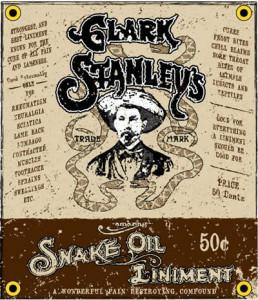Clark Stanley Snake Oil Salesman