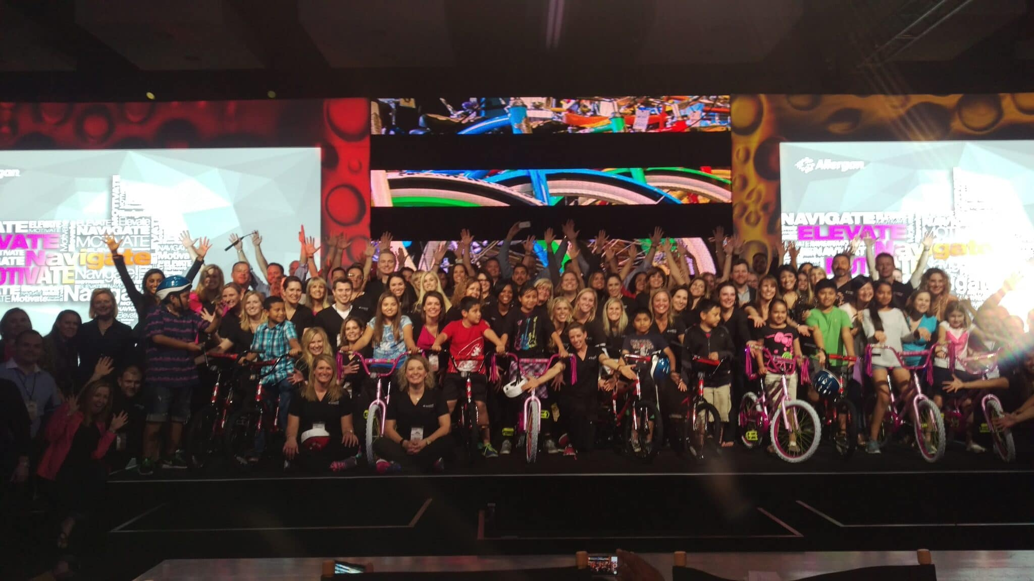 Allegan Build-A-Bike Team Event in San Diego, California