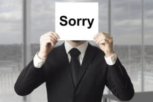 When Should a Leader Apologize for a Mistake?