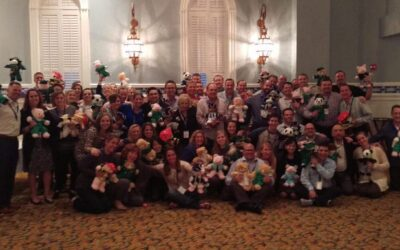 Neogenomics Labs Rescue Bear Team Building in Fort Myers Beach