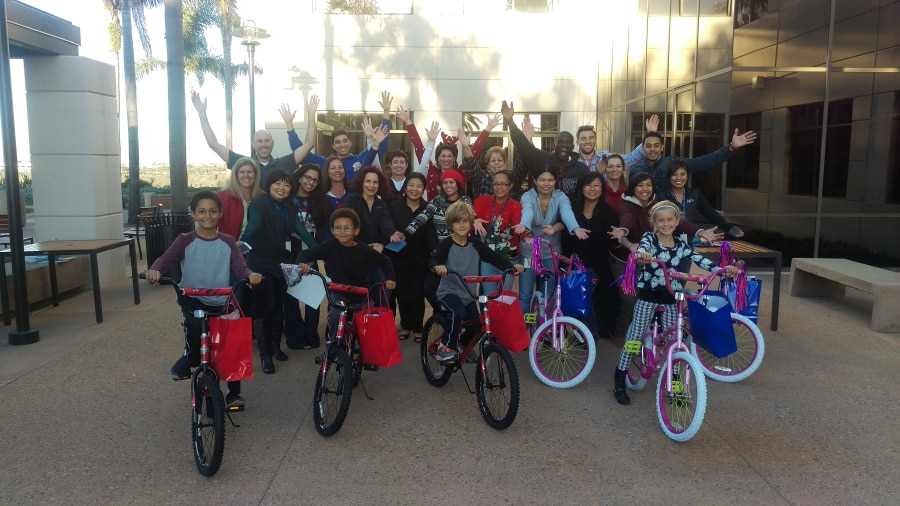 Lytx hosts Build-A-Bike in San Diego, CA