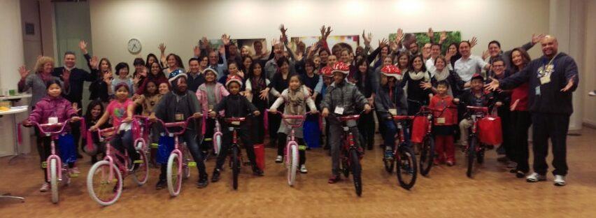 Bill and Melinda Gates Foundation Build-A-Bike