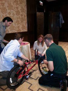 World Fuel Services Build-A-Bike in Chicago, IL