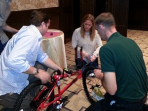 World Fuel Services Build-A-Bike in Chicago, IL