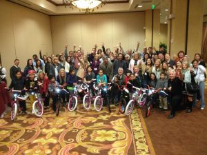 Pacific Hospitality Group Hosts Build-A-Bike In Napa, California
