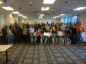Symantec Hosts Build-A-Bike in San Jose, California