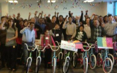 Symantec Hosts Build-A-Bike in San Jose, California