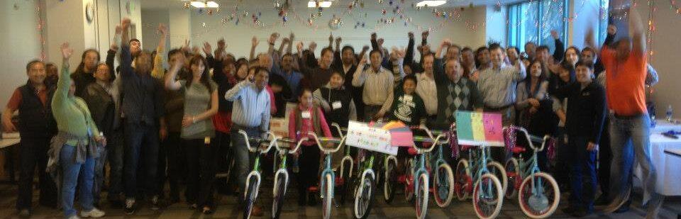 Symantec Build-A-Bike San Jose California