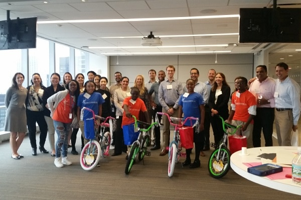MSCI Bike Team Building Competition in New York, NY
