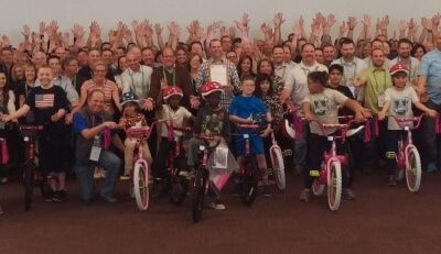 Owens Corning Build-A-Bike Team Event in Tucson, Arizona