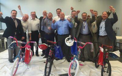 UPS Hosts Build-A-Bike in Salt Lake City, Utah