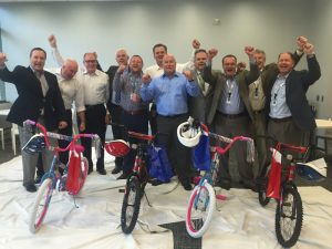 Philips Lighting Build-A-Bike in Somerset, New Jersey