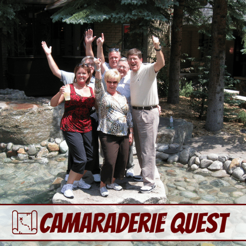 Camaraderie Quest Team Treasure Hunt