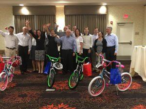 Ogilvy Commonhealth Build-A-Bike in Philadelphia PA