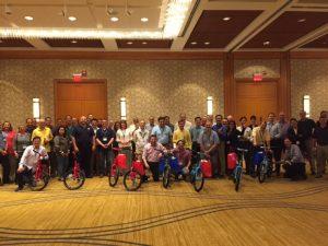 CTS Corporation Build-A-Bike in Oak Brook, IL