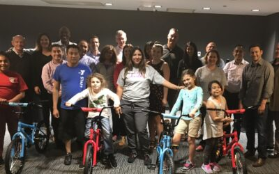 Vyaire Medical Build-A-Bike Activity in Chicago, IL