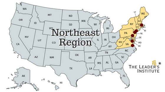 Cities in the Northeast where we have team building instructors.