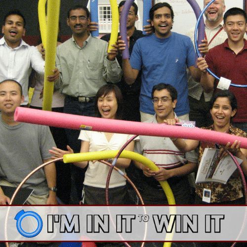 I'm In It To Win It Fun Team Building Event