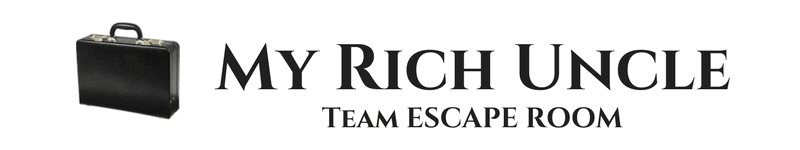 My Rich Uncle Team Escape Room Logo