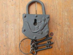 Vintage Escape Room Lock