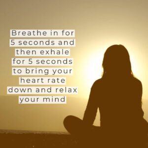 Proper breathing helps you reduce stress.