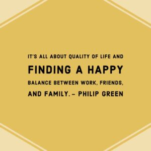 Find a Happy Balance Between Work, Friends, and Family