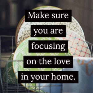 Focus on the love