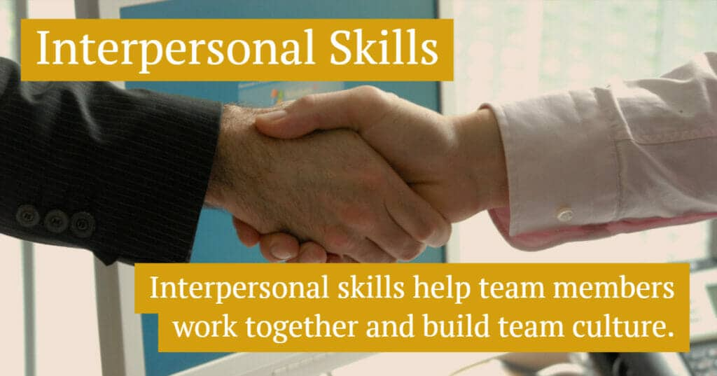 Interpersonal Skill Examples