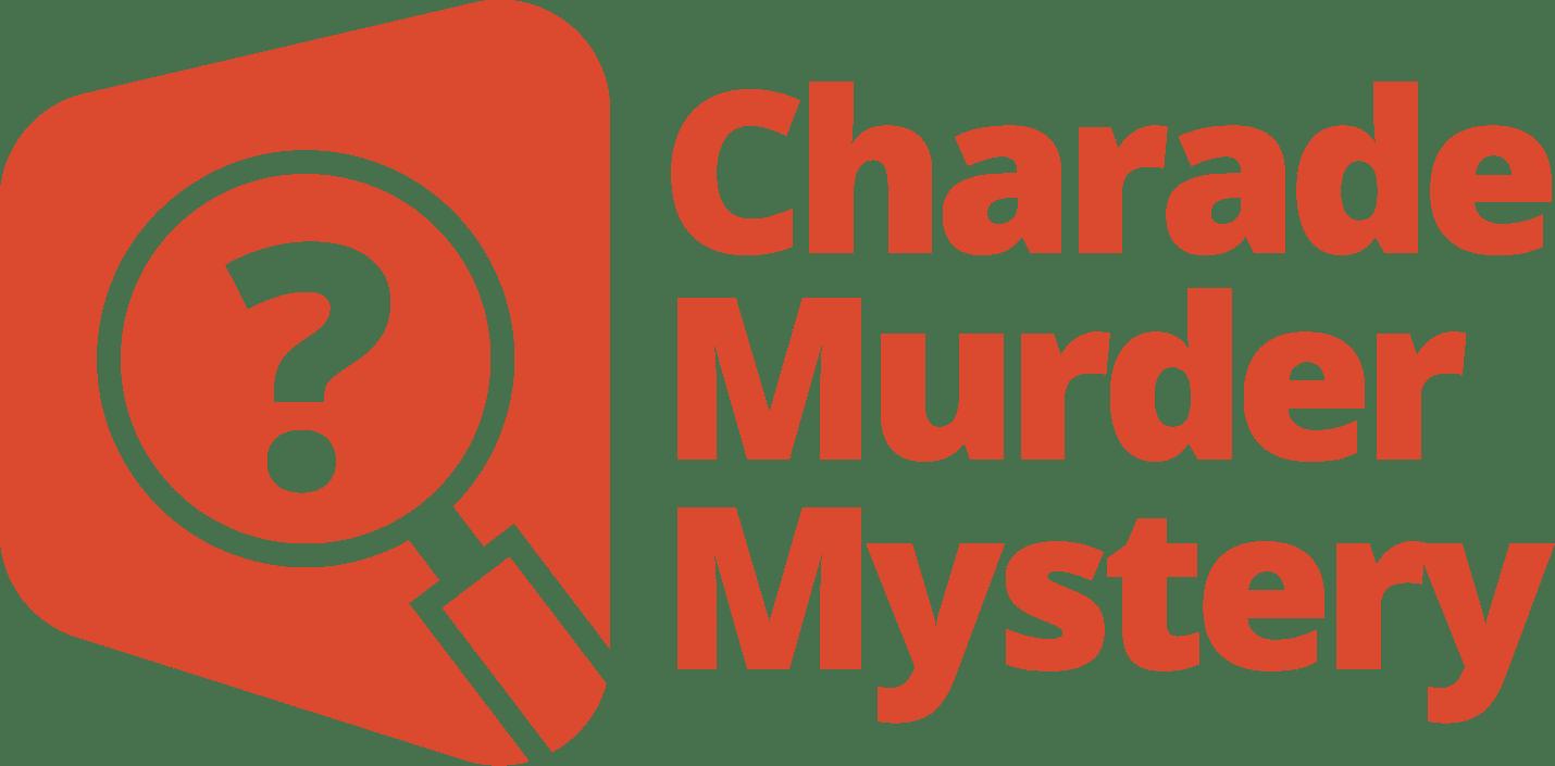 Charade Murder Mystery Logo