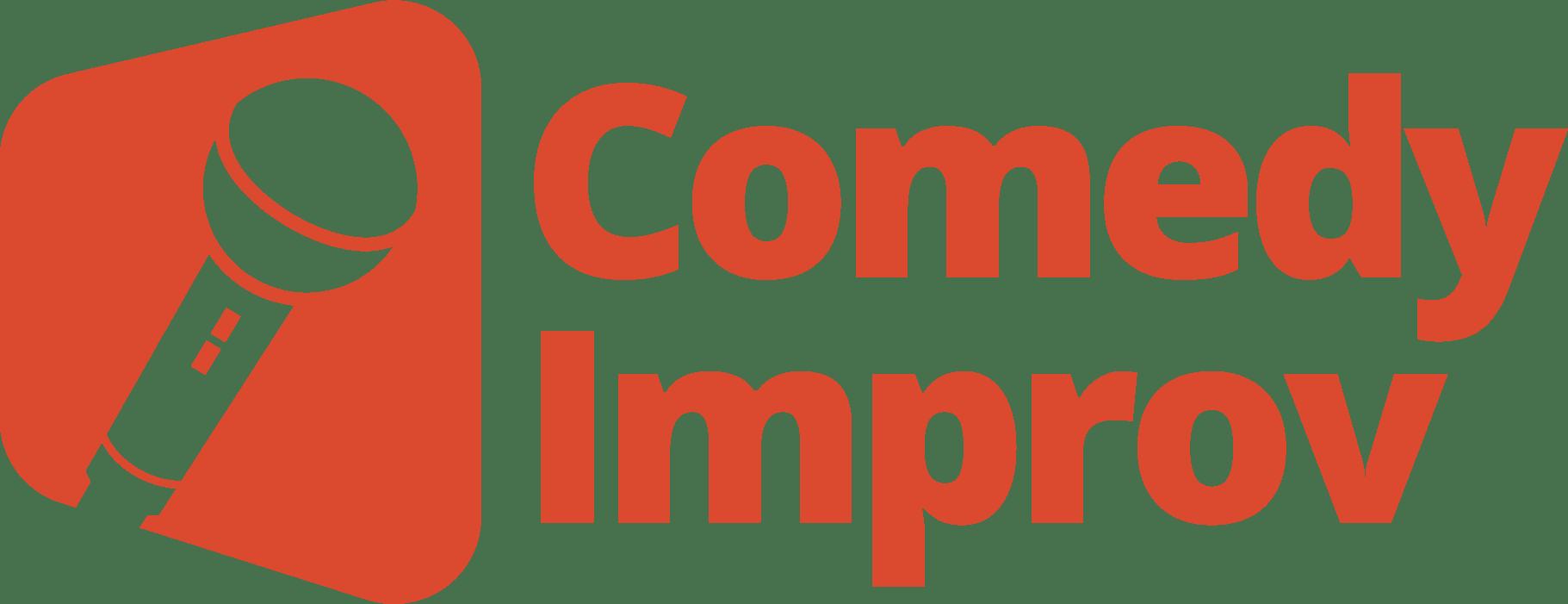 Improv Comedy Team Building Logo