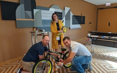 Small Build-A-Bike Event Yields Large Results for Northrup Grumman in Fairfax,VA