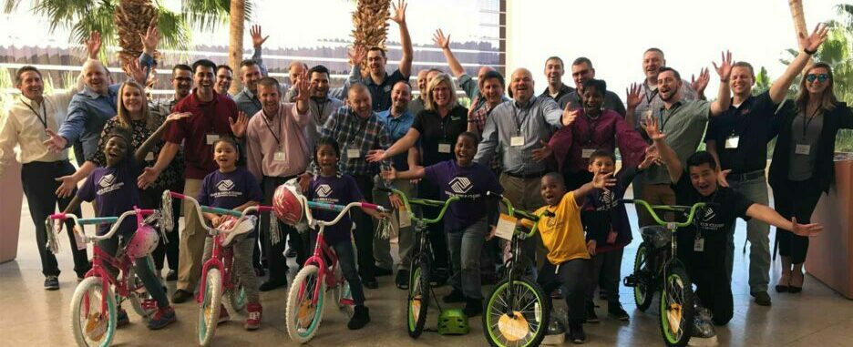 Build-A-Bike Team Building Event Las Vegas NV