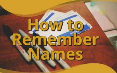How to Remember Names-Astonishing Way to Place Names with Faces