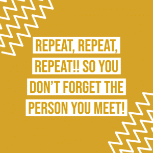 Repetition helps you remember