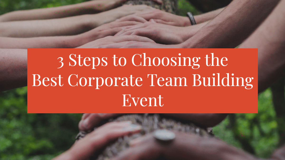 corporate team building event