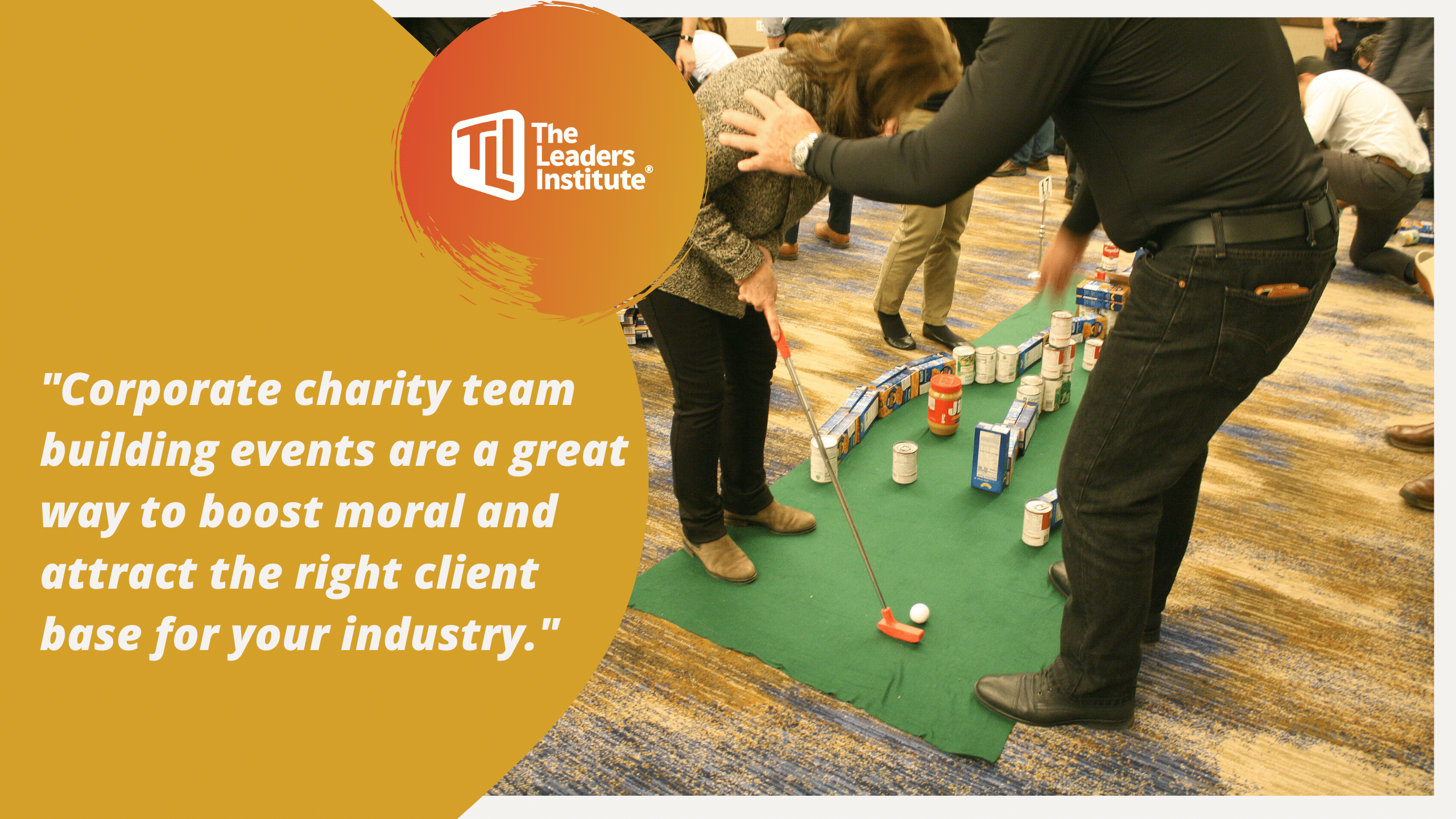 Charity Team Building Events Boost Morale