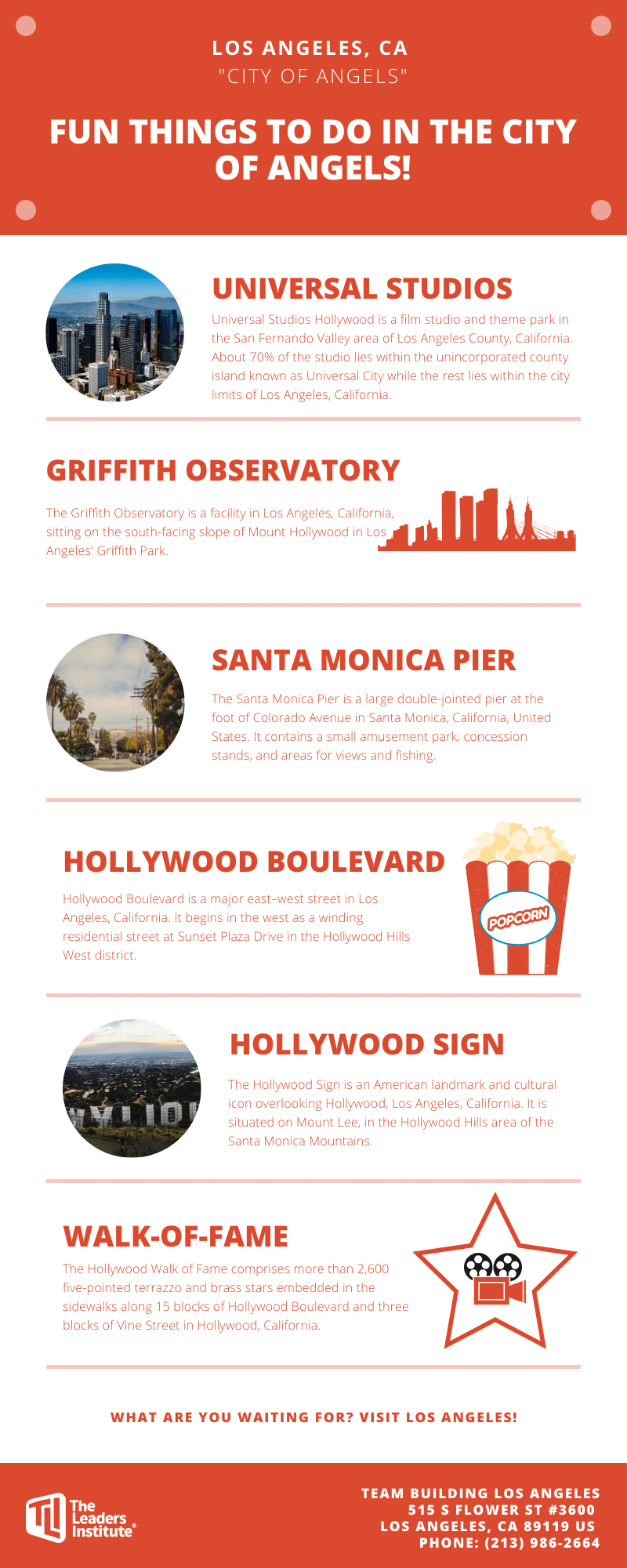 Fun things to do in Los Angeles.