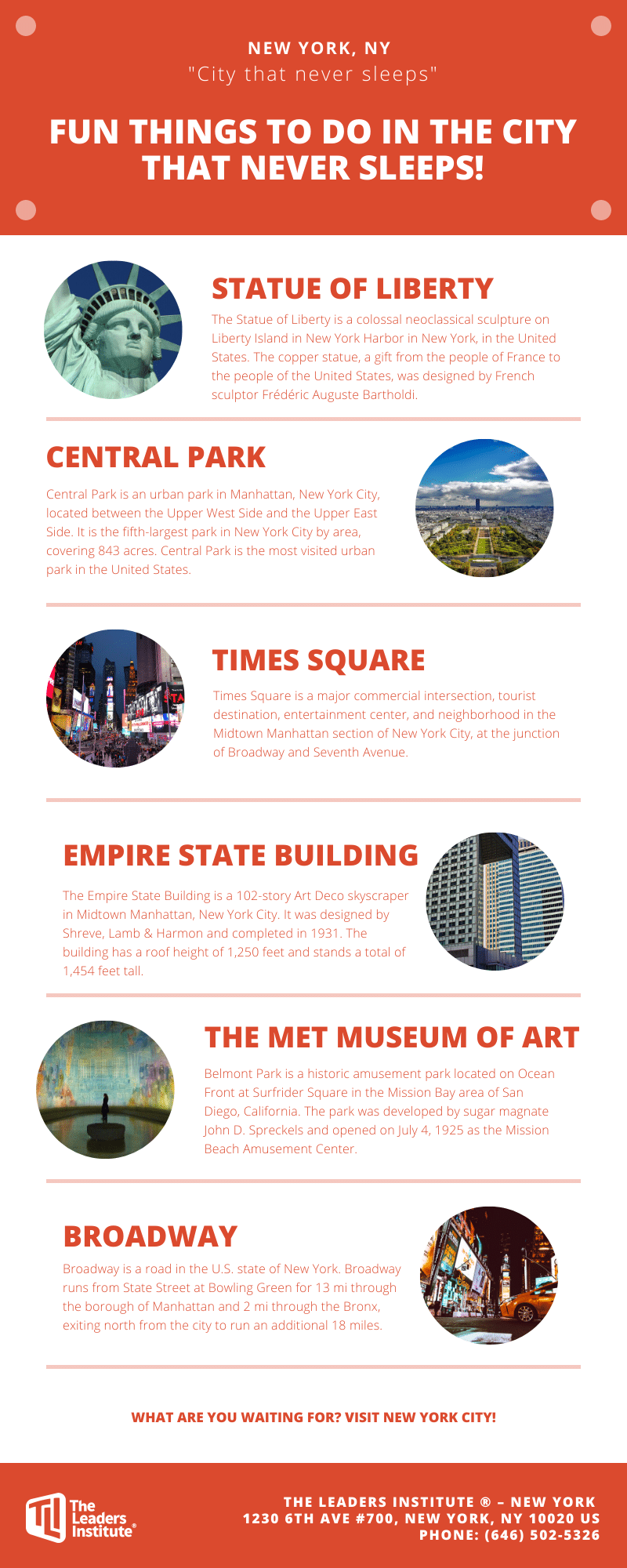 Fun Things To Do In New York City