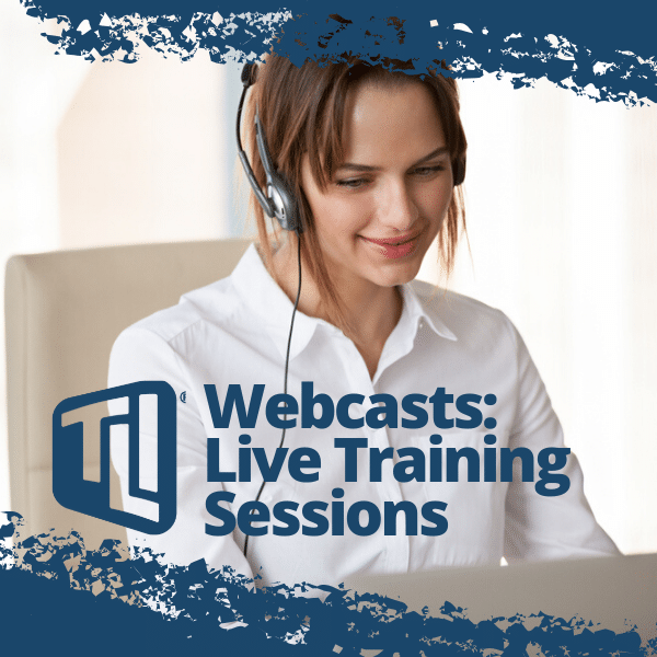 Webcasts: Live Online Training Sessions