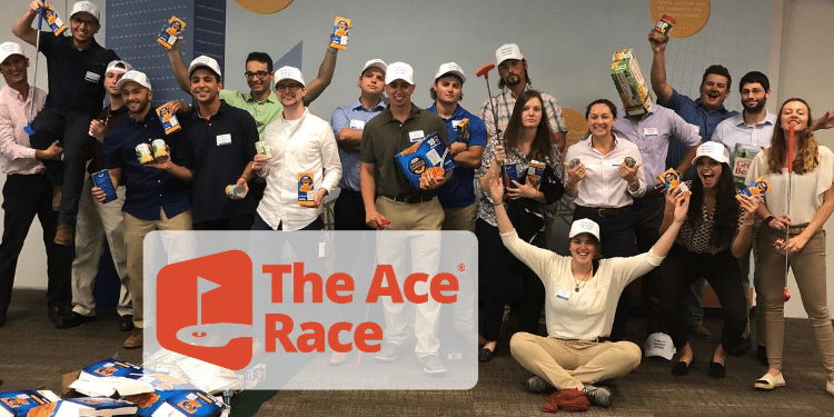 The Ace Race Mini Golf Team Building